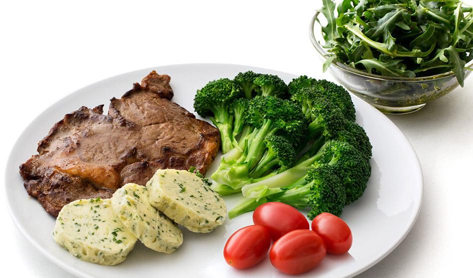 кето низкоуглеводные блюда